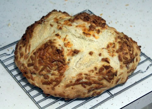 Smoked Cheddar Cheese Bread