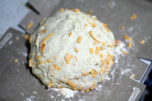 Smoked Cheddar Cheese Bread Boule