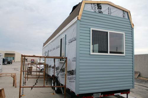 Vinyl Siding for Tiny House