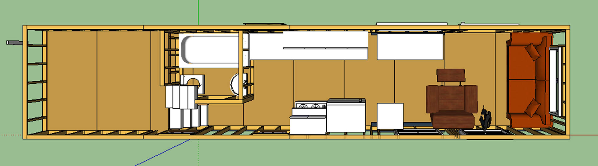 The Updated Layout Tiny House – Tiny House Floor Plan Maker
