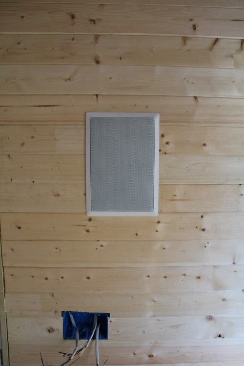Tiny House In-wall speaker for the &quot;living room&quot; Whole House Audio